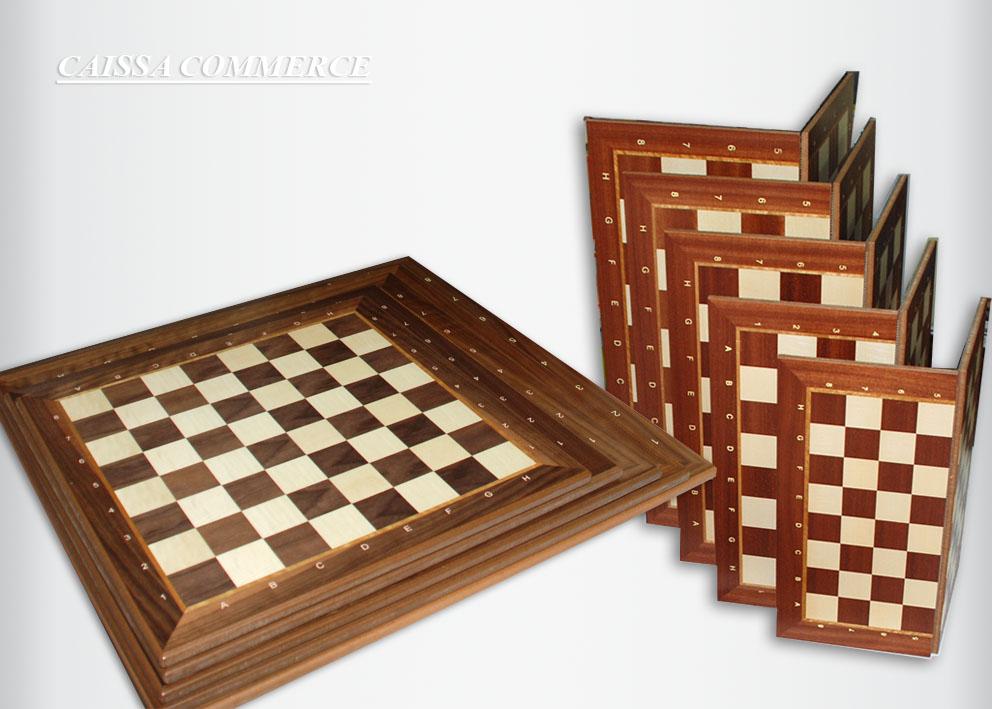 Drvena sah tabla caissa LUX