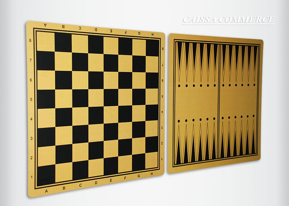 Drvena šah tabla stampana