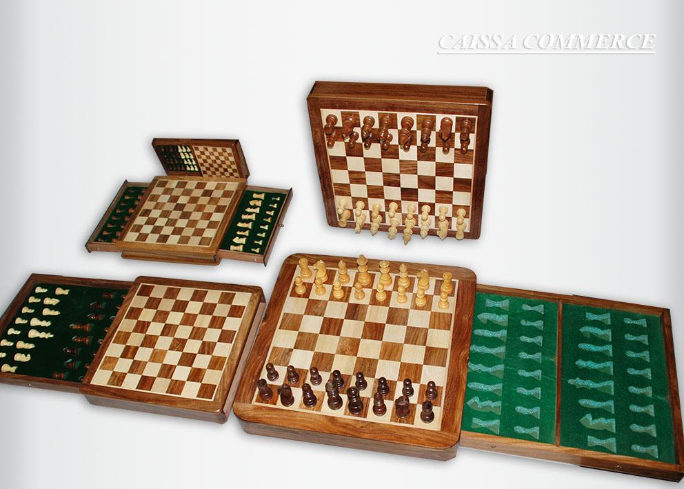 Magnetni šah u kutiji sa fiokom
