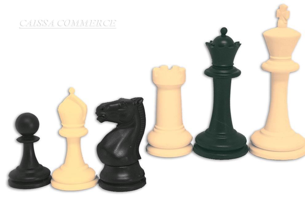 Plasticne sahovske figure